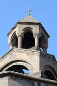 image of cupola  - Mother church cupola of Armenian Apostolic Church in Echmiadzin monastery complex - JPG