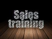 stock photo of training room  - Advertising concept - JPG