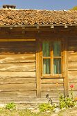 image of unnatural  - Beautiful stylish old house close up view - JPG