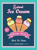 stock photo of ice cream parlor  - Always fresh - JPG