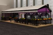 outdoor cafe - terrace