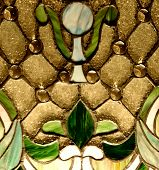 picture of stained glass  - Vintage stained - JPG