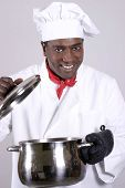 Chef White Open Pot