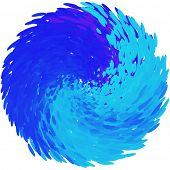 Elemento abstracto del vector