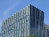 High-tech Glass Building poster