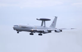 picture of awacs  - boeing e - JPG