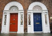Dublin Georgian Doors
