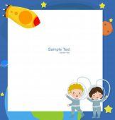 Astronaut Boy and Girl