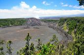 Volcanic Crater In Hawaii