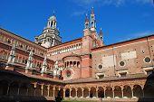 picture of carthusian  - The Certosa di Pavia or Charterhouse of Pavia  - JPG