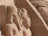foto of aswan dam  - The temples at Abu Simbel - JPG