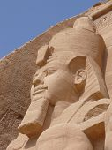 foto of aswan dam  - The temples of Abu Simbel are one of the most visited tourist attractions in Egypt - JPG