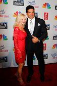 NEW YORK, NY- MAY 20: Actor Lou Ferrigno and wife Carla attend the 'Celebrity Apprentice' Live Finale at the American Museum of Natural History on May 20, 2012 in New York City.