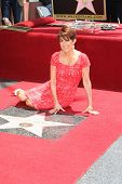 LOS ANGELES - MAY 22: Patricia Heaton at a ceremony honoring Patricia Heaton with a Star on The Holl