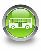 Bus glossy icon