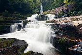 McLean Falls in The Catlins region of New Zealand
