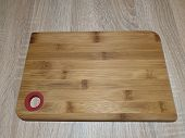 Wooden Cutting Board. Board For Cutting Food. Kitchen Utensils poster