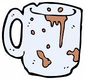 filthy cartoon mug