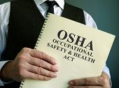 Osha Occupational Safety & Health Act In The Hands. poster