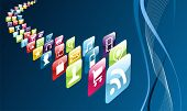 Global Mobile Phone Apps Icons