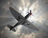 pic of spitfire  - Attacking fighter - JPG