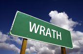 Wrath Road Sign