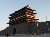 Beijing China - Building Tiananmen Square
