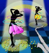 Dancing And Dreaming Women