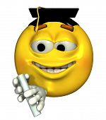 Graduate Emoticon