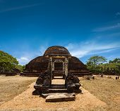 picture of vihara  - Ancient Buddhist dagoba  - JPG