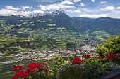 Village In South Tirol