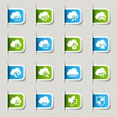 Label - Cloud computing Icons