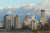 Coast Mountains and Towers, Vancouver