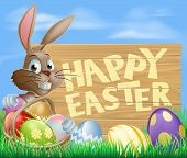 Happy Easter teken