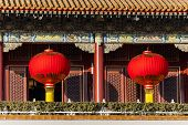 Laterns im Tiananmen Tower, Beijing