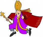 laufende Papst