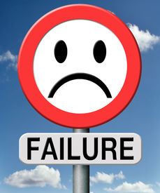 picture of fail job  - failure fail exam or attempt can be bad especially when failing ian important job task or in your study failing an exam - JPG