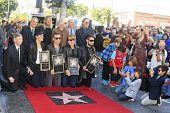 LOS ANGELES - OCT 30: Taylor Hawkins, John Densmore, John Doe, Perry Farrell, Dave Navarro, Stephen