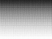 Halftone Background. Black-white