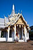 Thai Temple,Wat Muang,Chachengsao Province in Thailand