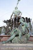 Neptune Fountain By Begas (1891), Alexanderplatz Square, Berlin