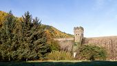 West Tower Of Derwent Dam