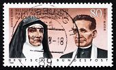 Postage Stamp Germany 1988 Edith Stein And Rupert Mayer