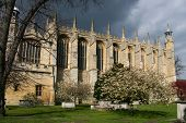 View of Eton College Chapel, Windsor, England
