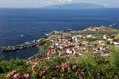 Island Of Corvo In The Atlantic Ocean Azores Portugal