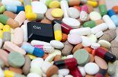 Ctrl (control) key among drugs (Control drugs)