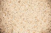 Coarse Sand Background Texture. Macro Of Coarse Sand Grains