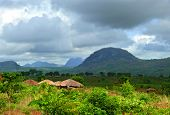 Village Nampevo On The Nature. Africa, Mozambique.