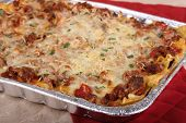 Pan Of Lasagna