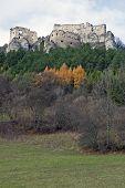 Lietava Castle And Forest Around